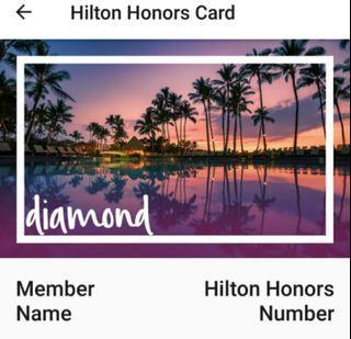 Hilton Daily breakfast,  until Feb 2022