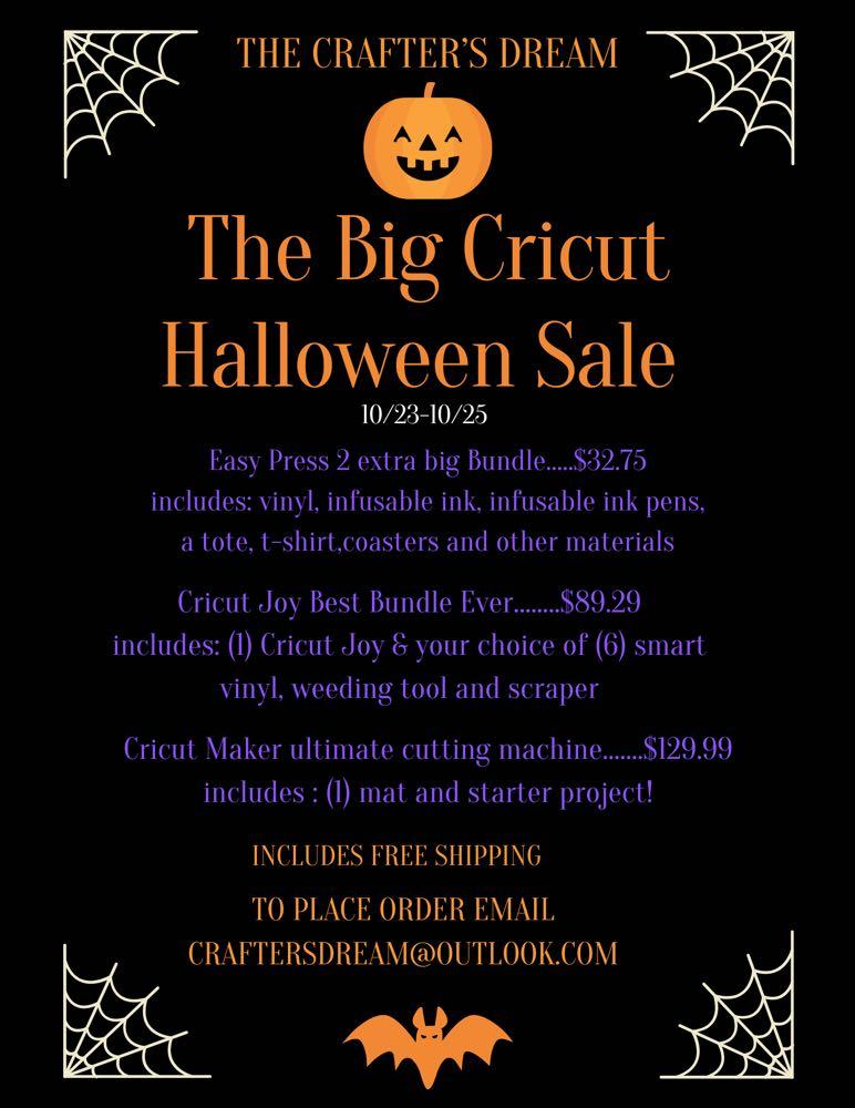 Huge Cricut Sale wkend only, ALL MACHINES ARE CHEAP