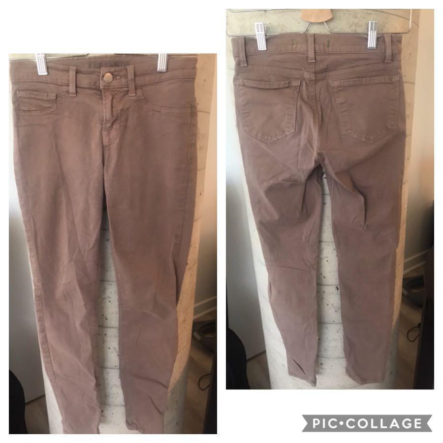 JBrand Womens Beige / Neutral Skinny Jeans Size 25