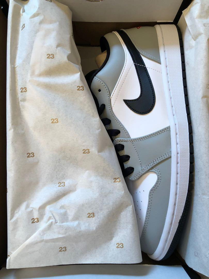 Jordan 1 smoke grey low