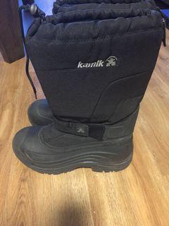 Kamik Men's Black Boots