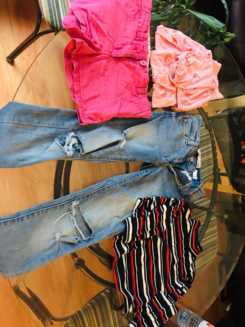 Lot of clothing for girl, obo