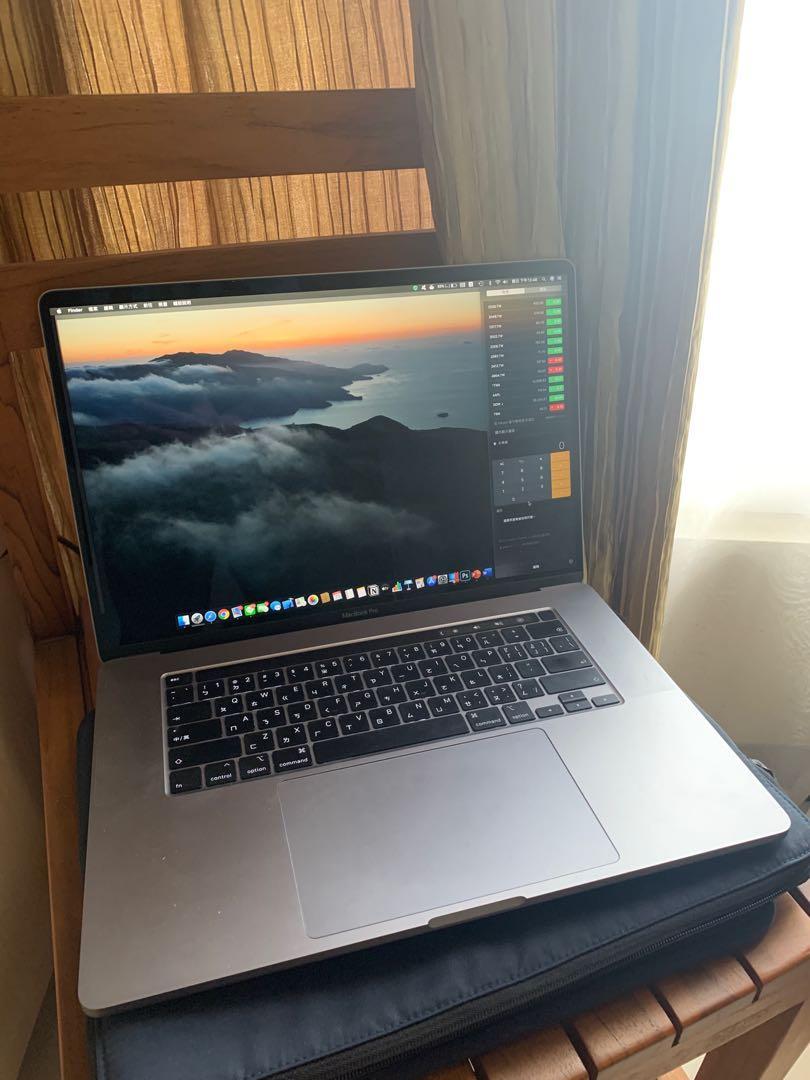 [一手MacBook Pro 16]2020購入,保固內,16g ram,512 SSD