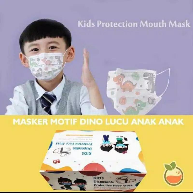 Masker Anak 3 ply