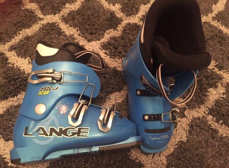 Ski boots for kids