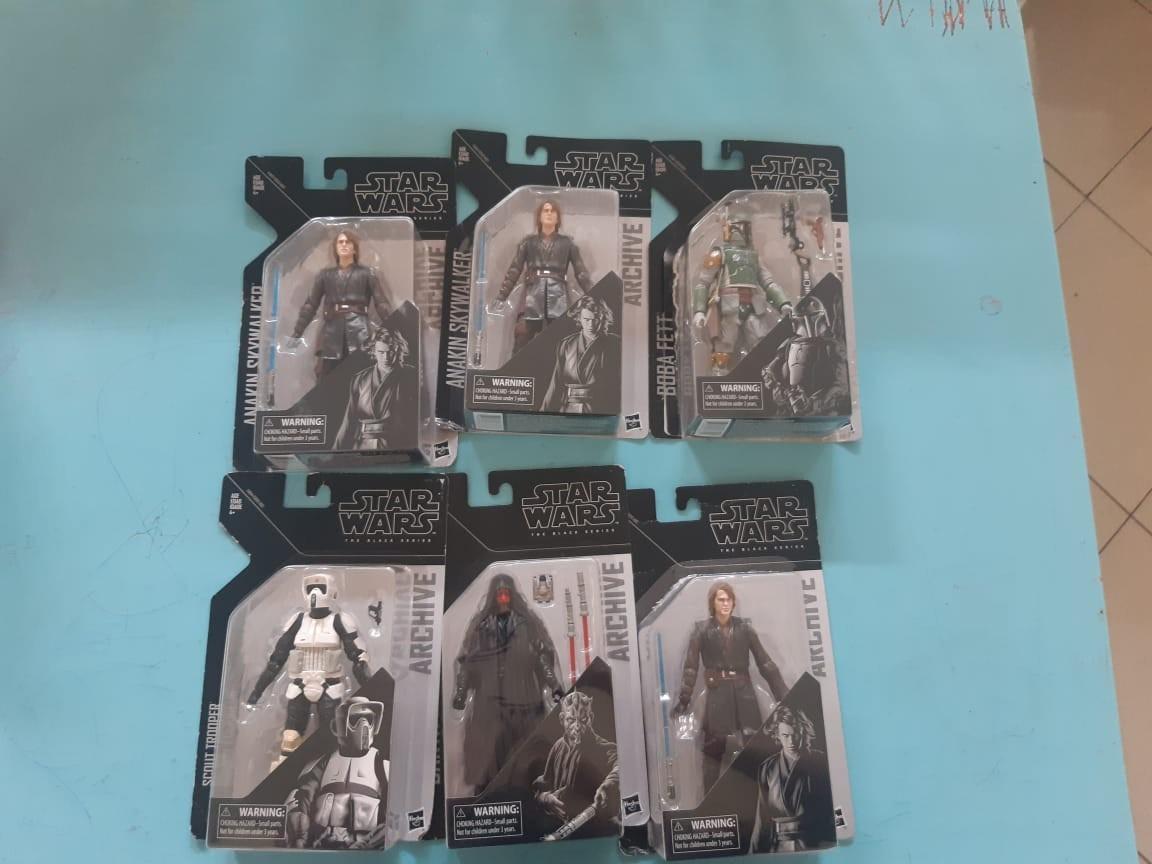 Star Wars Black Series Anakin Skywalker Archive