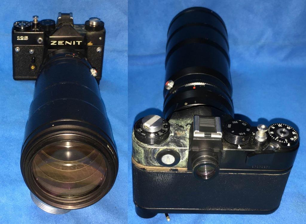 TAIR-3S 4.5/300 望遠攝鏡頭 送 ZENIT 12S 機身 Made in USSR