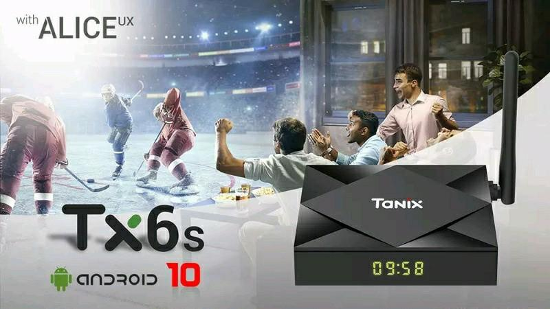 TANIX TX6S  SMART ANDROID 10 32 gb
