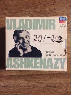 Vladimir Ashkenazy Mozart Concerto CDs
