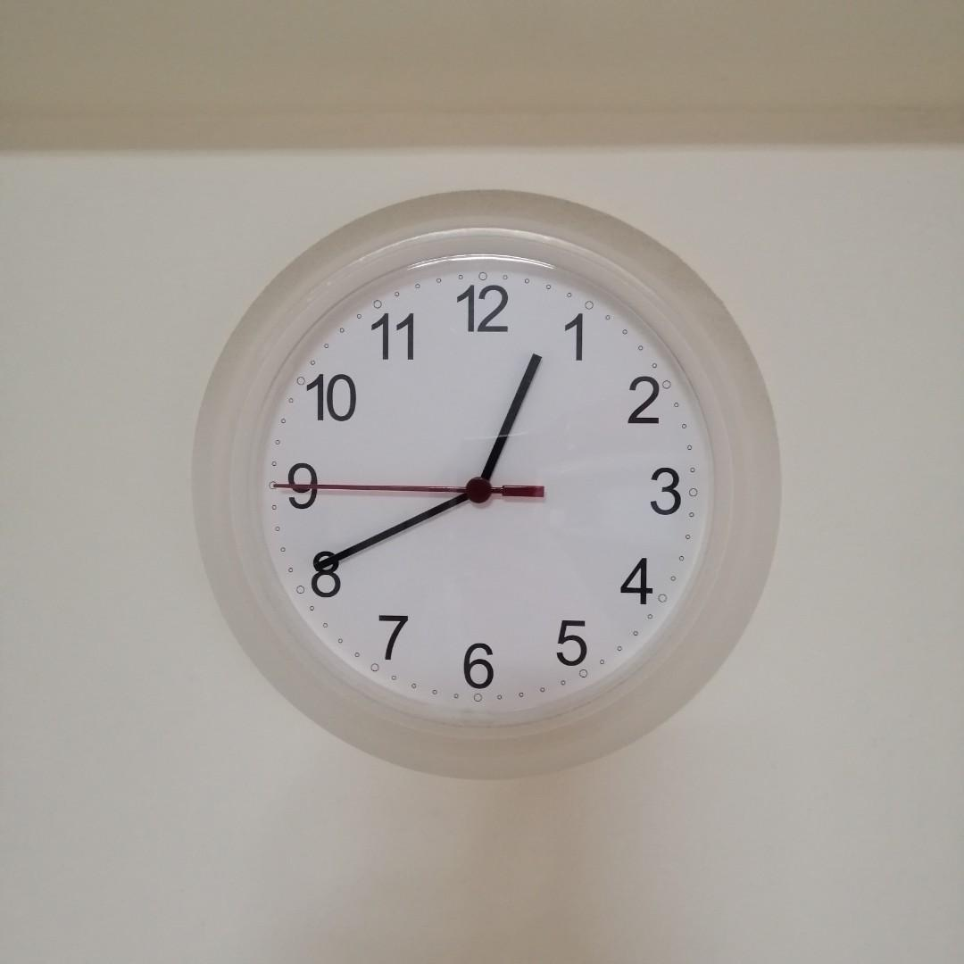 Wood Silent Bright with Topkey-Wall Clock to 30,5 cm