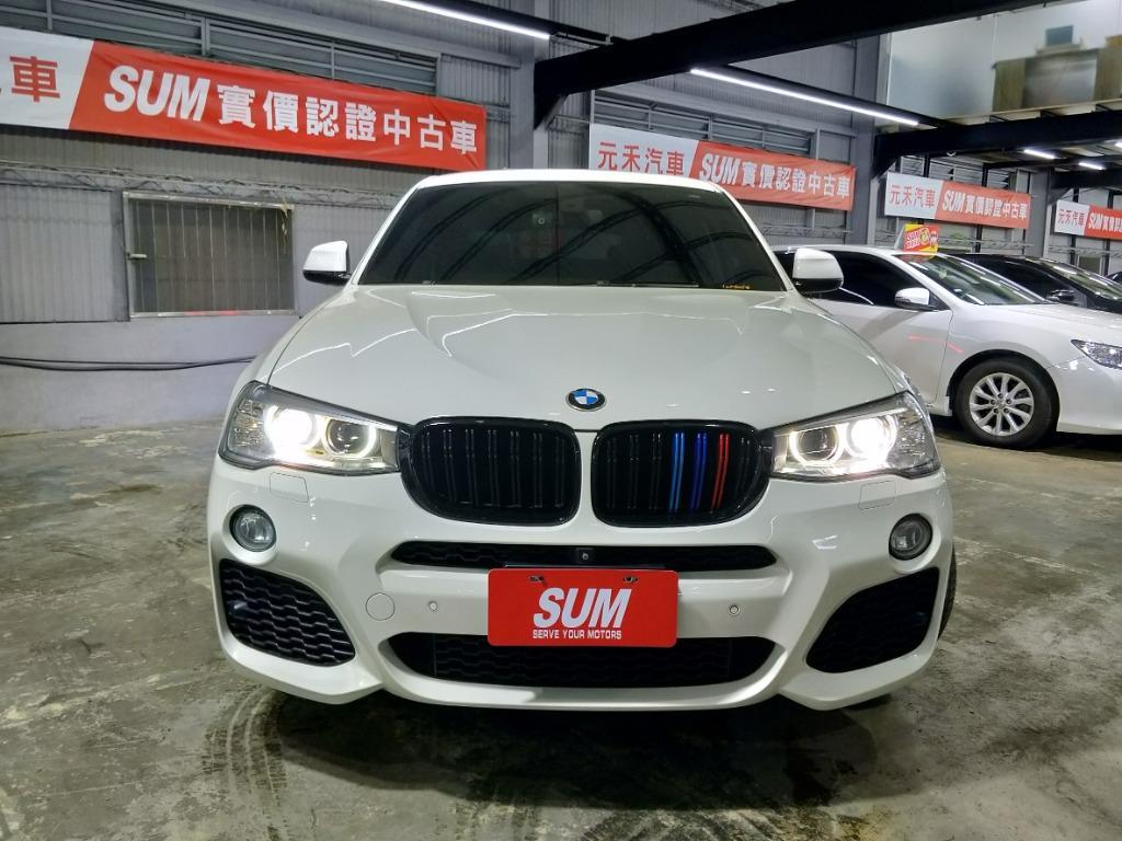 2015年 BMW X4 XDrive35I 3.0 汽油珍珠白 售價139.8萬  🔥總代理頂級正M版