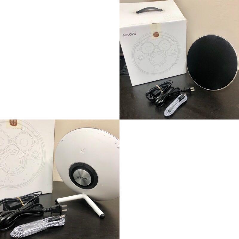 [二手出清]近全新 Solove O2 氧氣 創意無線藍牙音箱  藍芽4.0  全方位360度氧氣音響