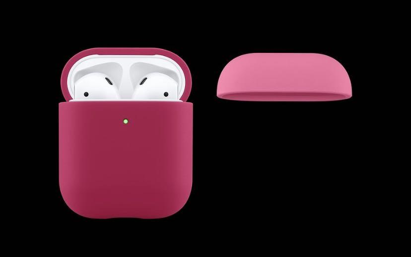 Apple AirPods Case - Silicone (for AirPods generation 1 and 2)