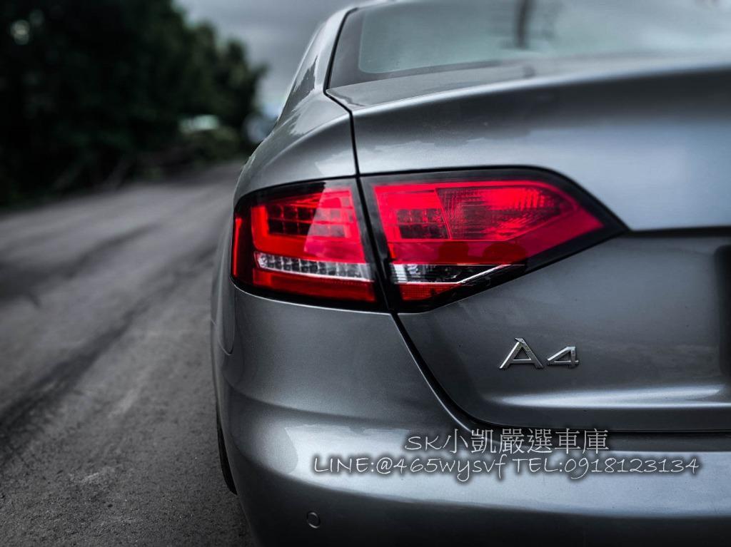 Audi A4 Rs4包 19吋鋁圈 RS水箱罩 整台帥爆!!