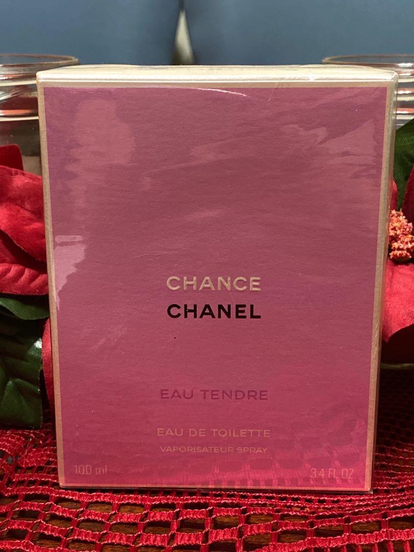 Authentic Chanel Chance Eau Tendre EDT 100ml