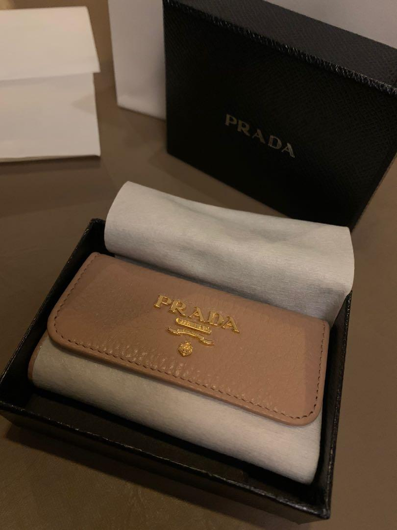Brand New Prada Keyholder