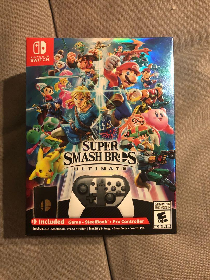 Brand New Super Smash Bros Ultimate Collectors Edition