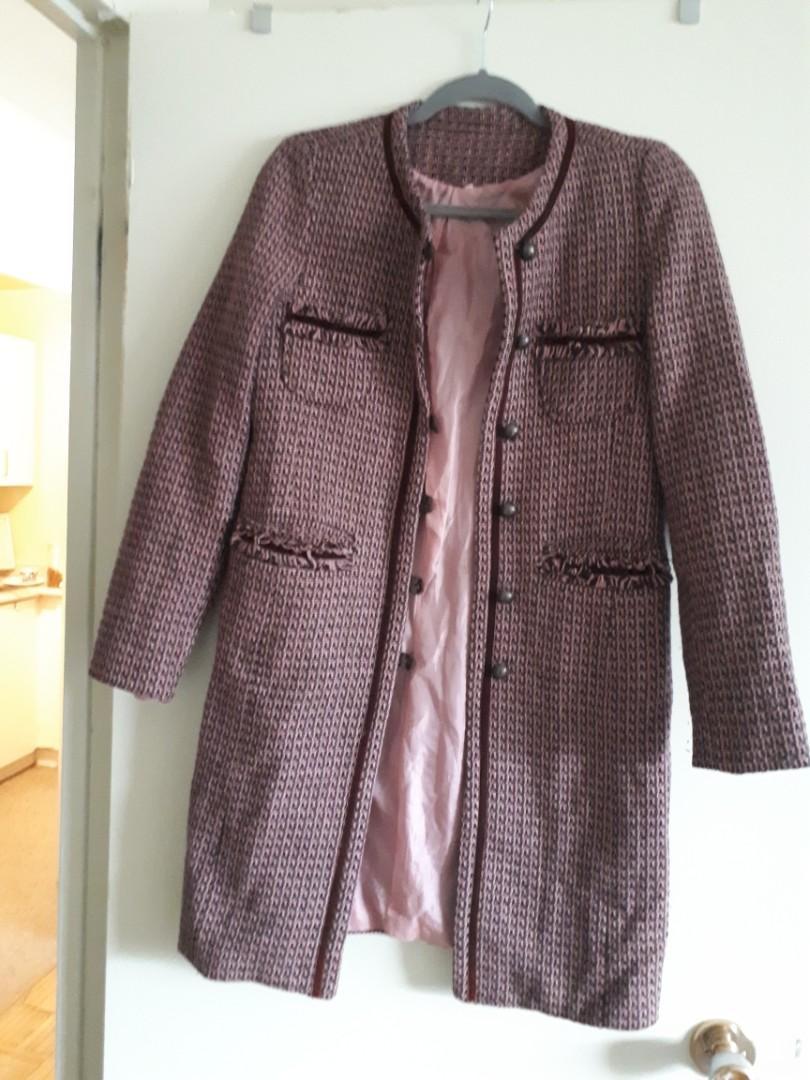 Chanel style coat