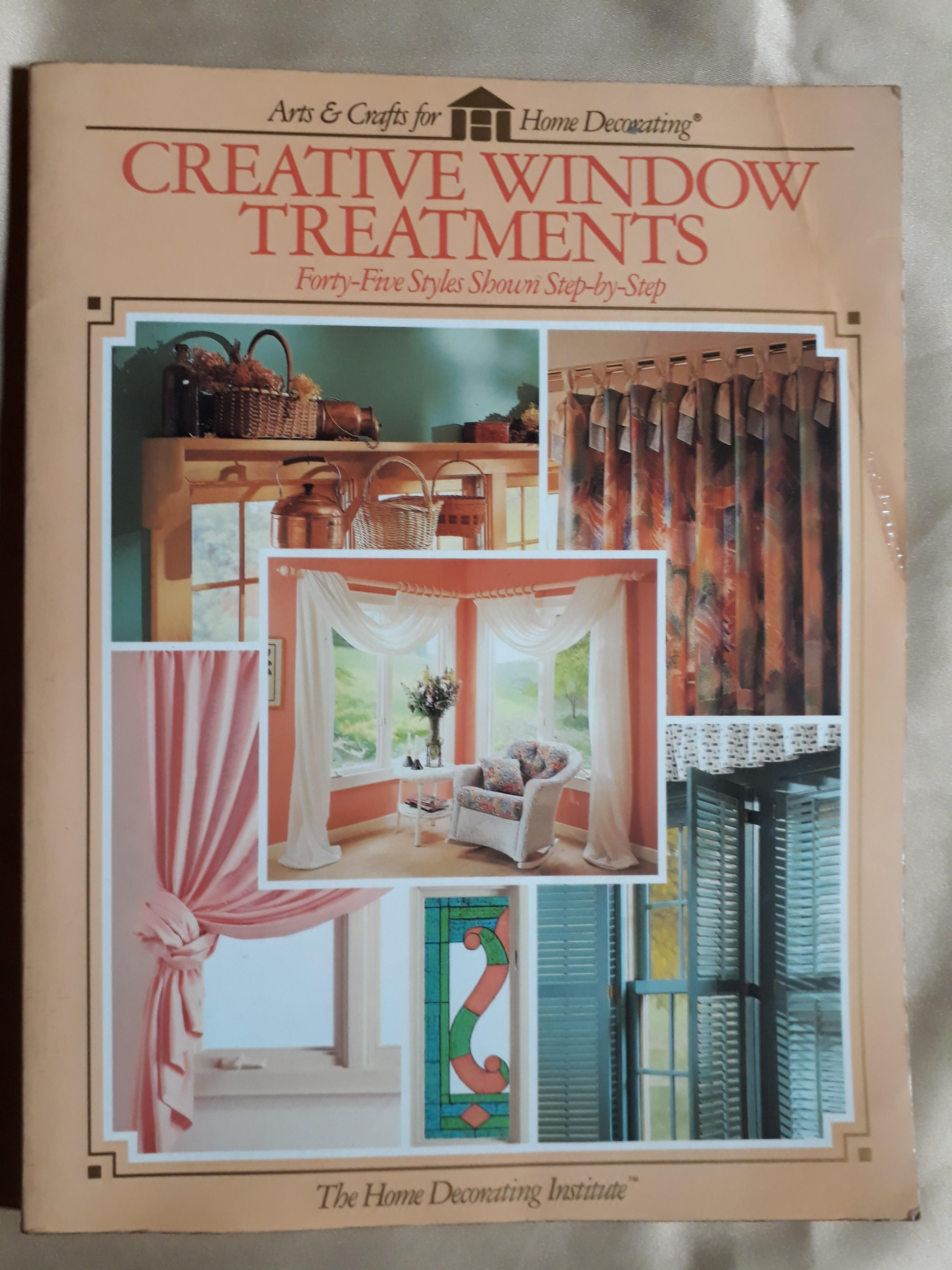Creative Window Treatments Guide Book Books Books On Carousell