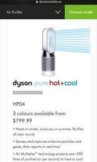 Dyson pure hot & cold