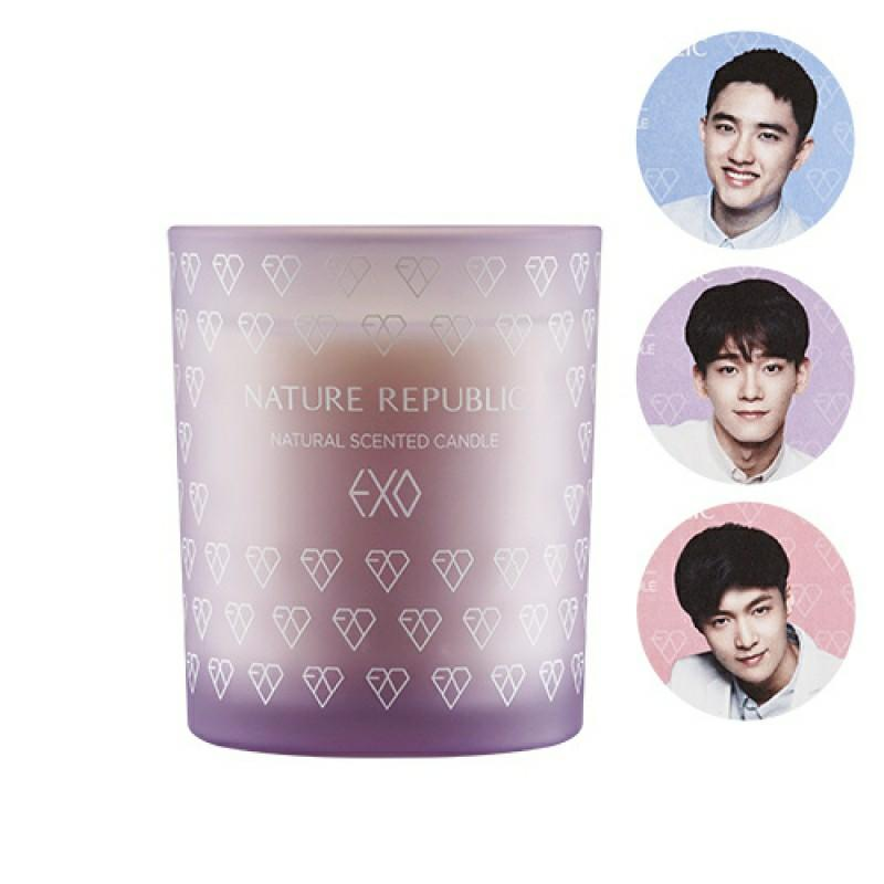 EXO Natrep Scented Candle (Lavender) READY STOCK!!
