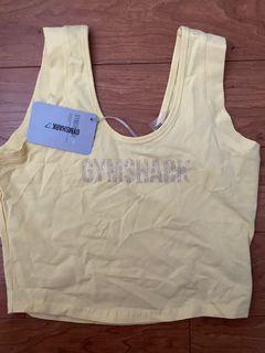 Gymshark women's crop top