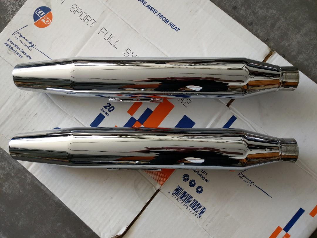 Harley Davidson 哈雷 胖童 Softail 車系 原廠排氣管 尾管