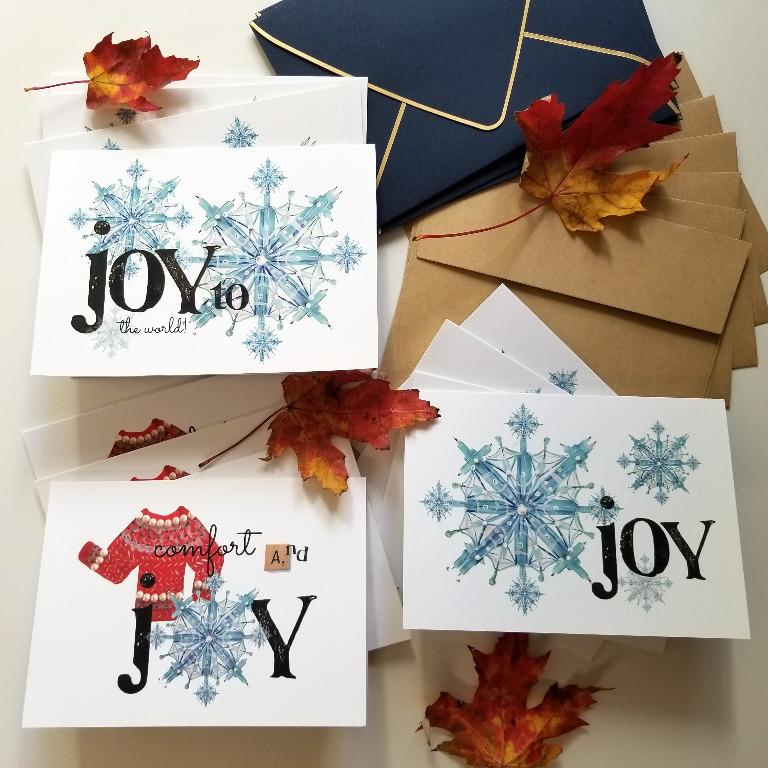 12 Limited Edition Holiday Cards by Local Artist