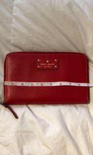 Kate spade new without tag large wallet/cheque book