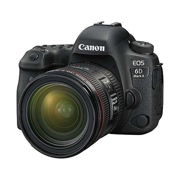 Kredit Canon EOS 6D Mark II DSLR Camera with EF 24-70 F4L IS USM Free EF 50mm F1.8
