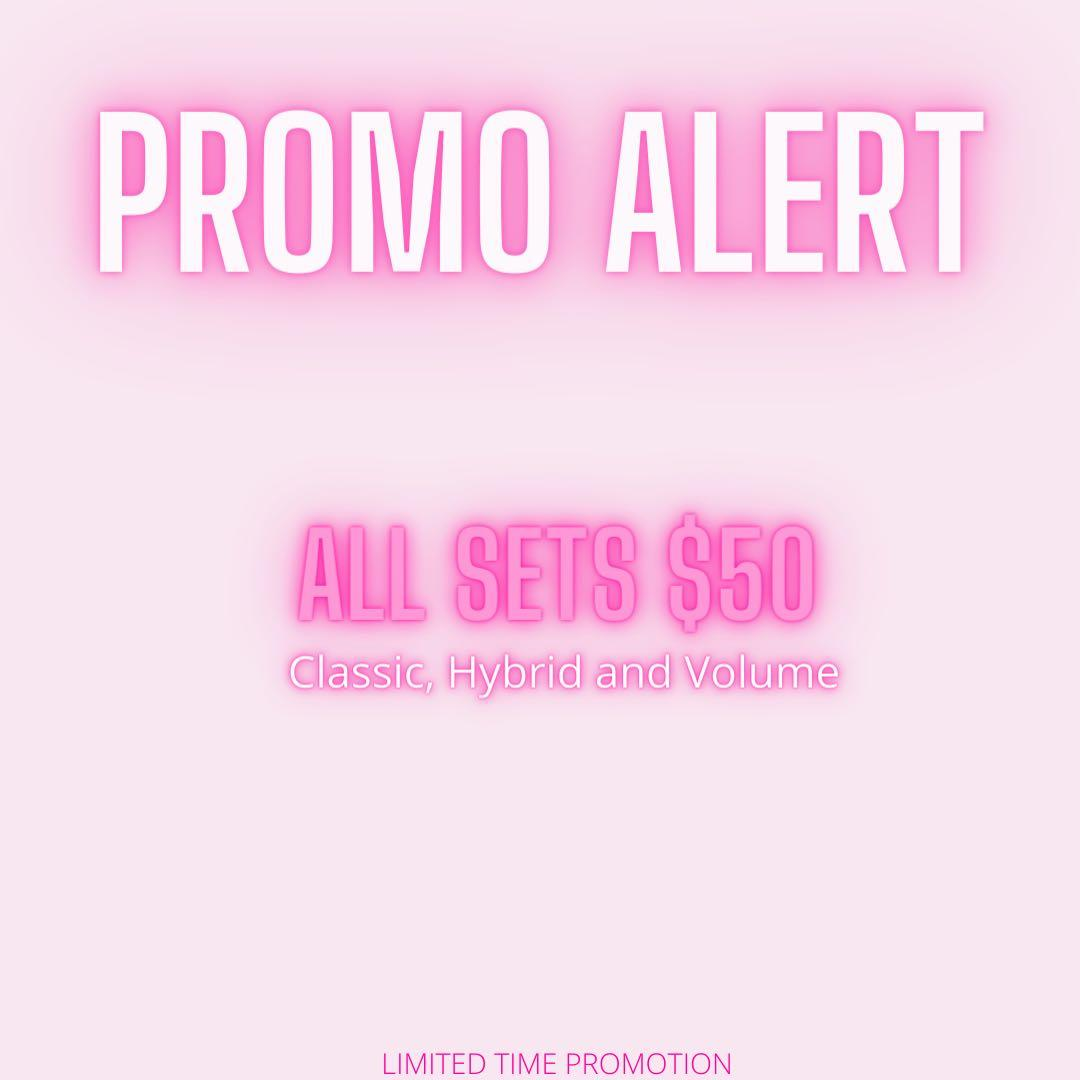 Limited time promotion!