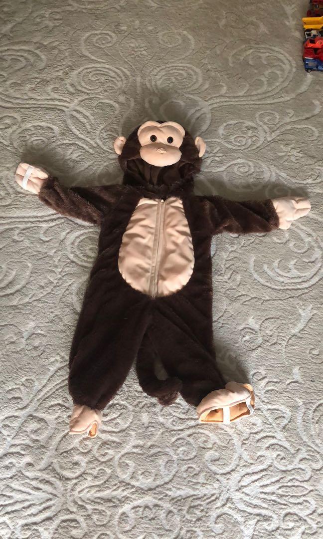 Monkey costume size 18 months