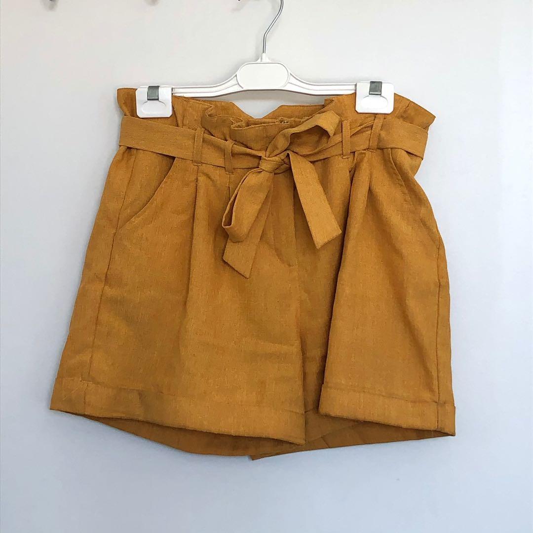 Mustard Yellow Dotti Shorts