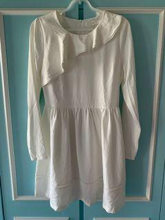 *New* Bread n butter white one piece dress