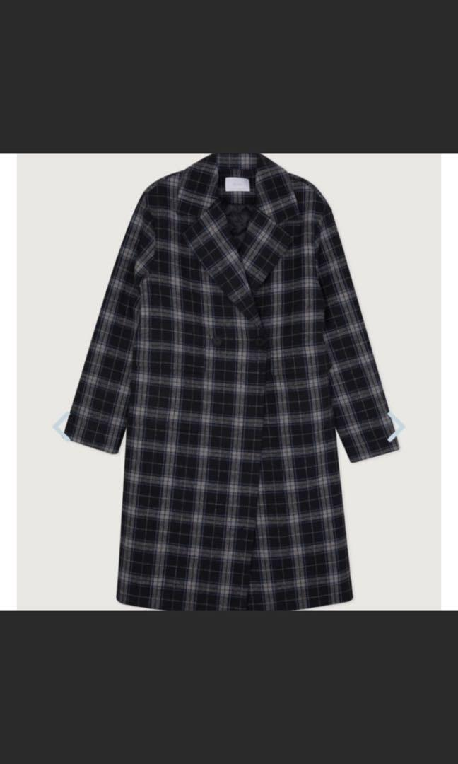NEW (with tag) Oak+Fort plaid coat