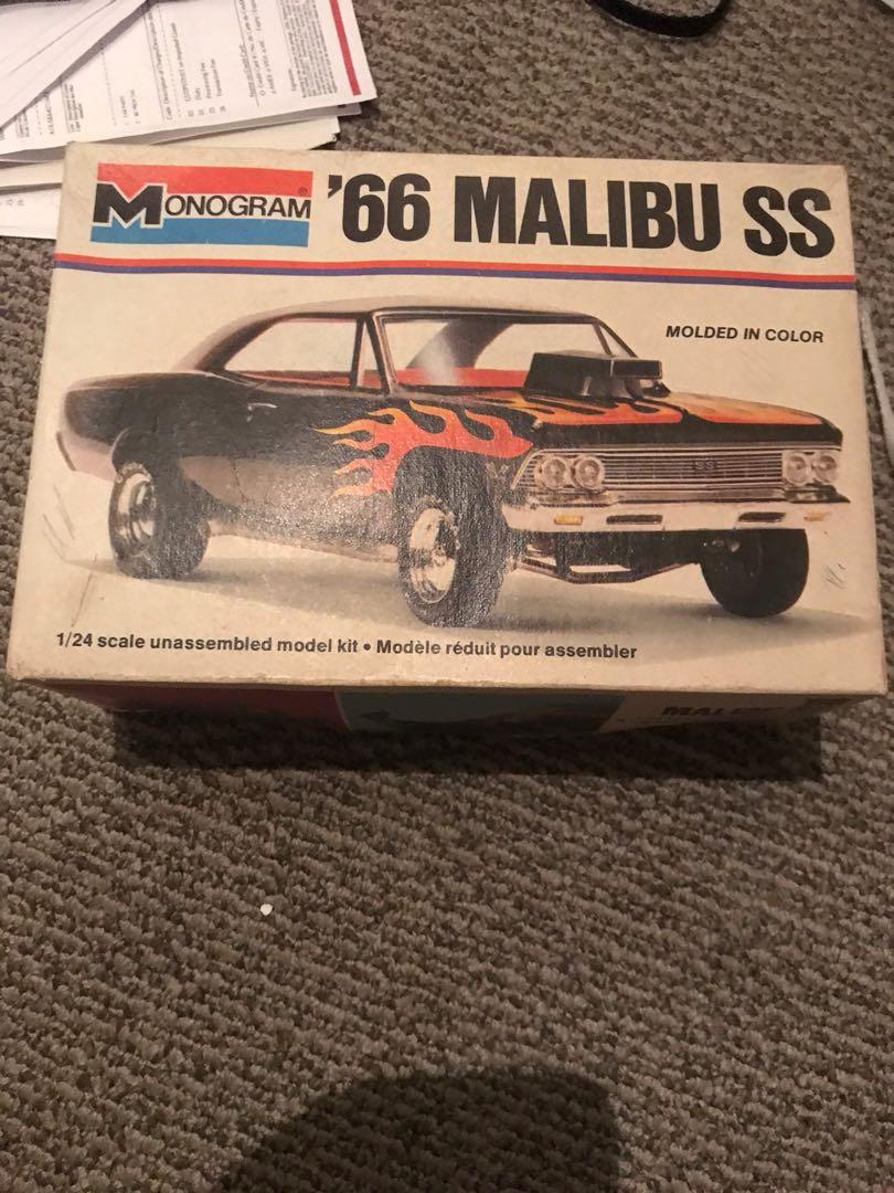 Old muscle car model kits
