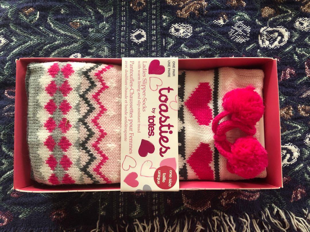 Pink Winter Socks