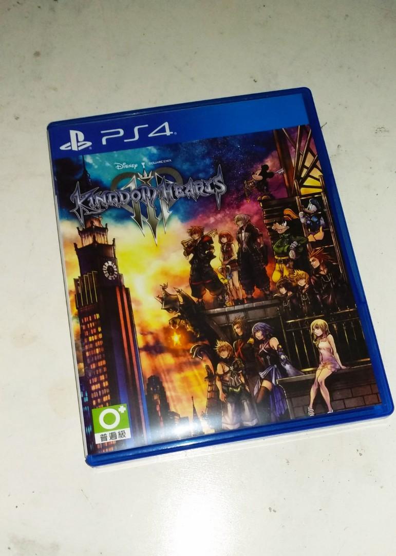 PS4 GAME 王國之心3