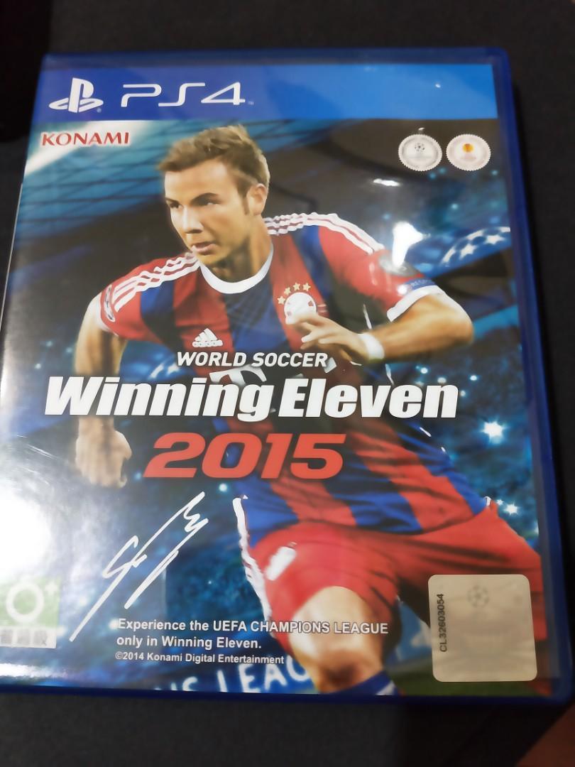 ps4遊戲片Winning Eleven2015