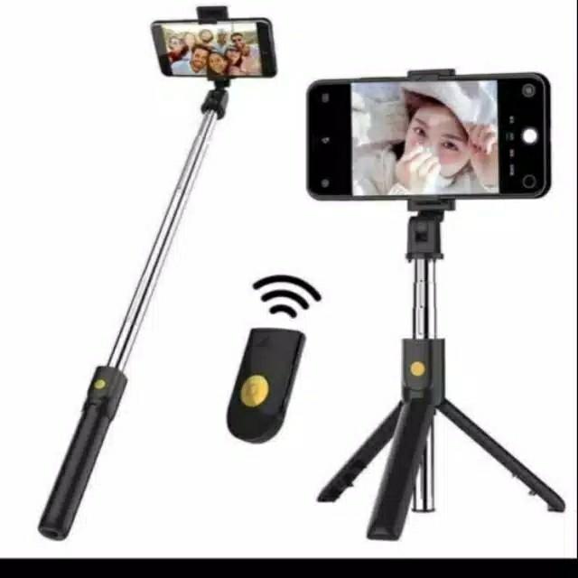Selfie stick tripod k07