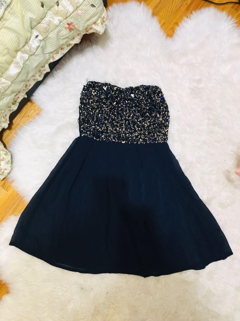 Sequin jewel dress