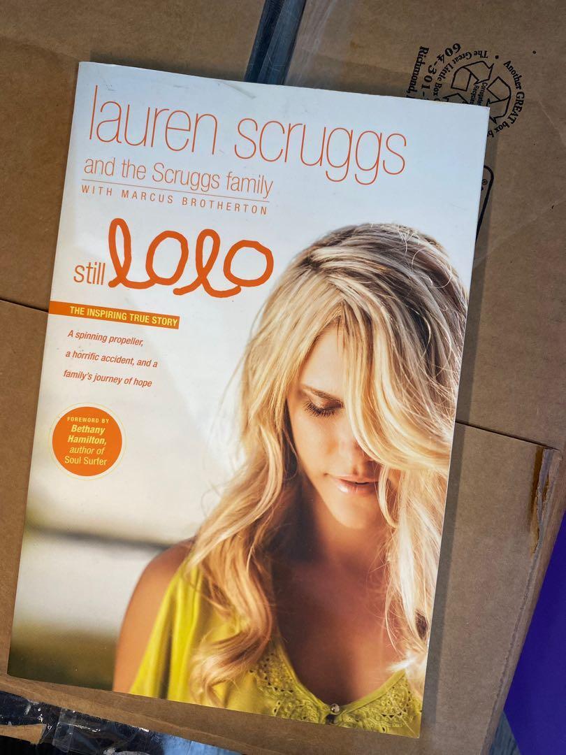 """Still Lolo"" autobiography by Lauren Scruggs"