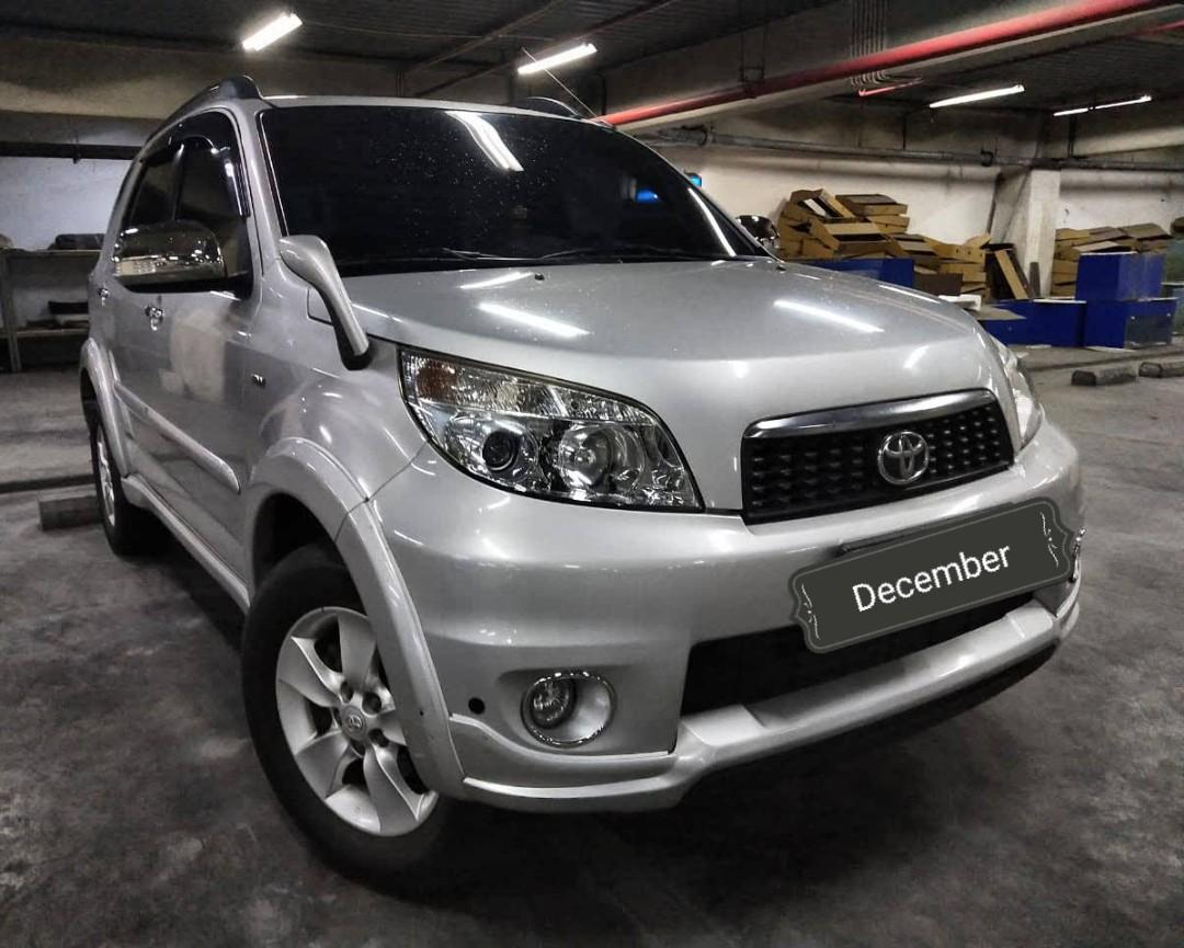 Toyota Rush S 1.5 MT 2012 angs 1.5 jt only