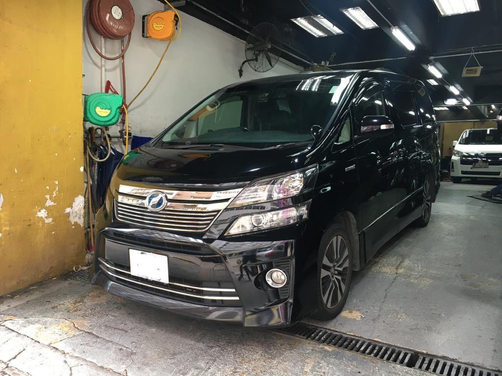 Toyota Vellfire 2.4 Hybrid X (A)