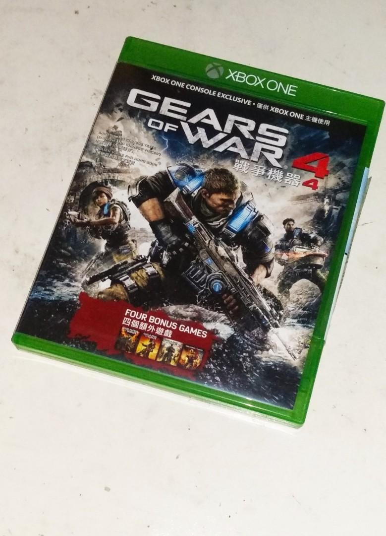 XBOX ONE GAME 戰爭機器4  GEARS OF WAR 4