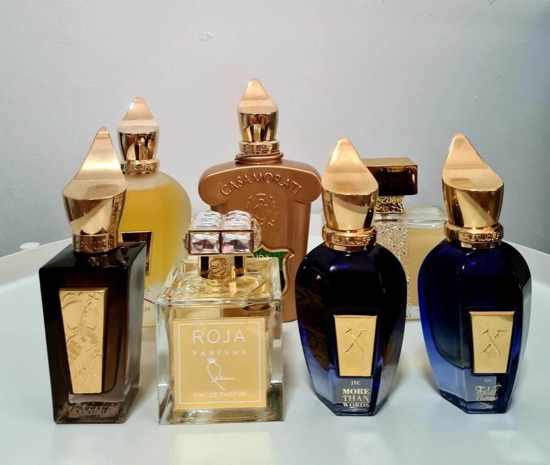 Xerjoff Roja Parfum M Micallef Perfume Decant Xerjoff Naxos Xerjoff More Than Words Xerjoff Fatal Charme