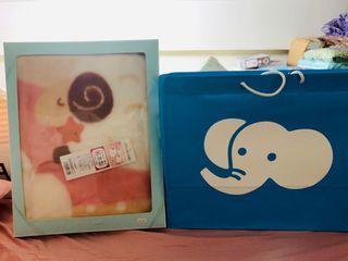 麗嬰房 日本製 毛毯禮盒 宅配免運