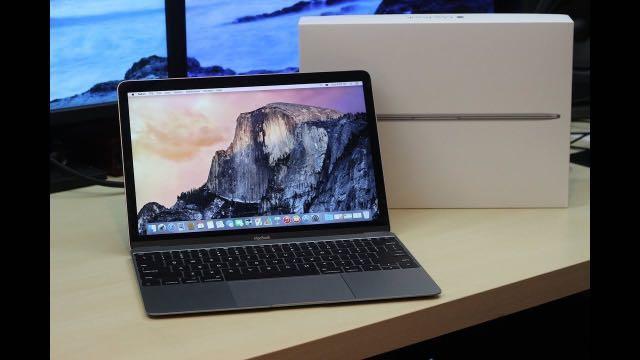 APPLE 太空灰 MacBook 12 256G 電池僅9次 RETINA 極致輕薄 刷卡分期零利率