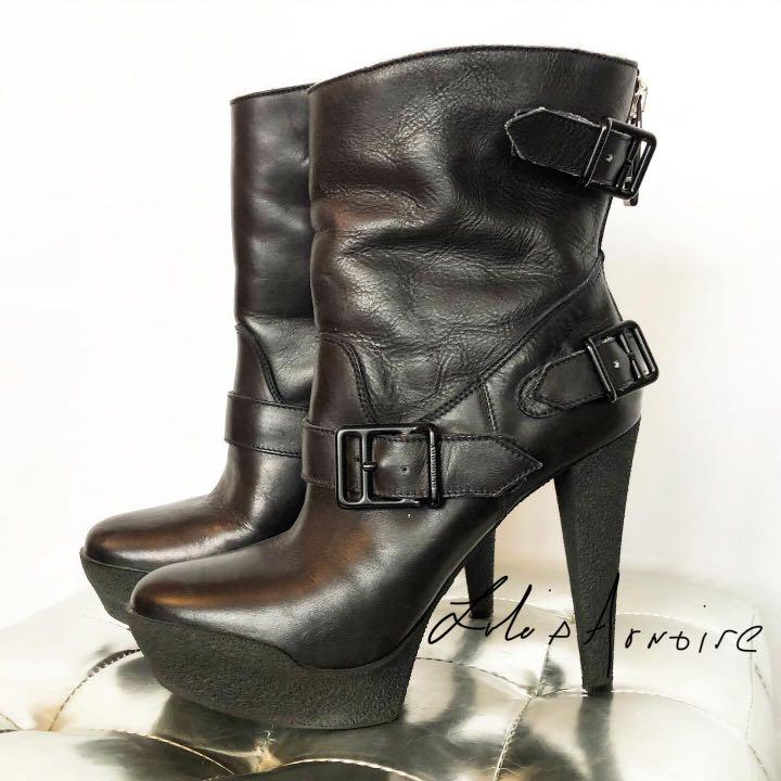 Burberry Shearling Boots