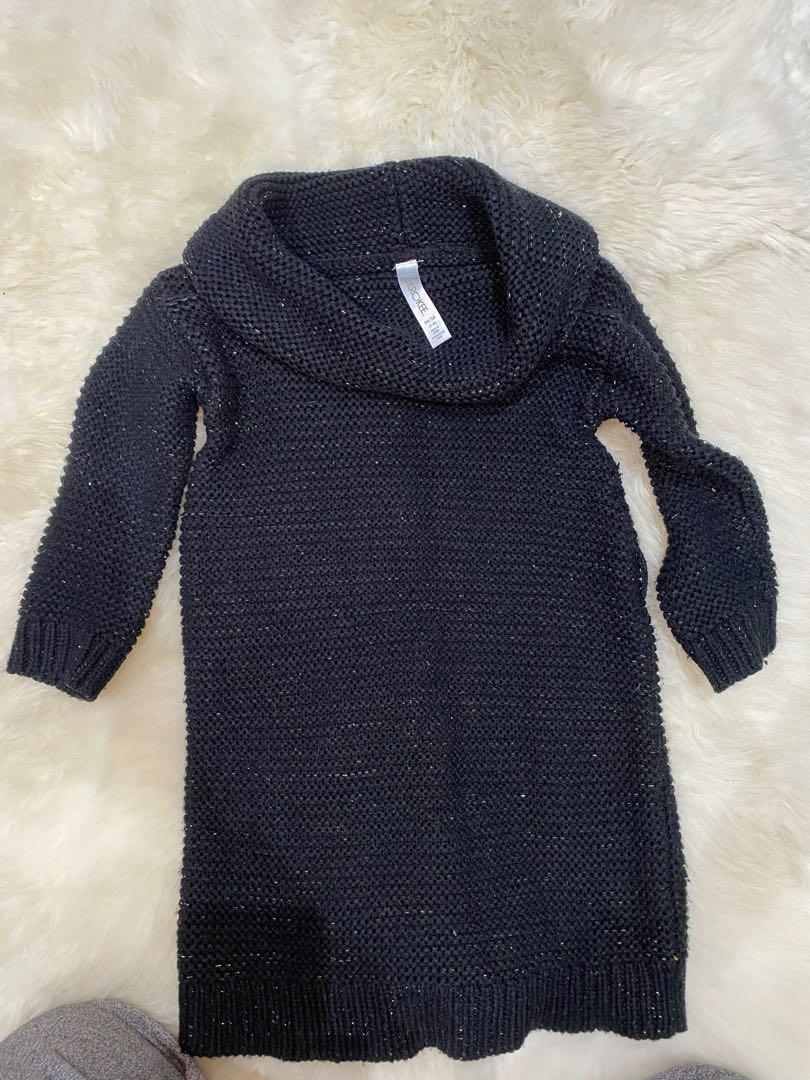 Cherokee kid girls sweater dress size medium 7/8